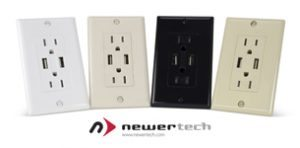 NewerTech Power2U dual USB wall outlet Giveaway Ends 7/31