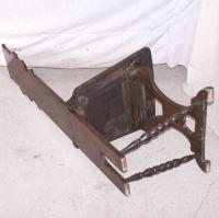 Bargain John's Antiques   Antique Oak Tall Single Chair ...