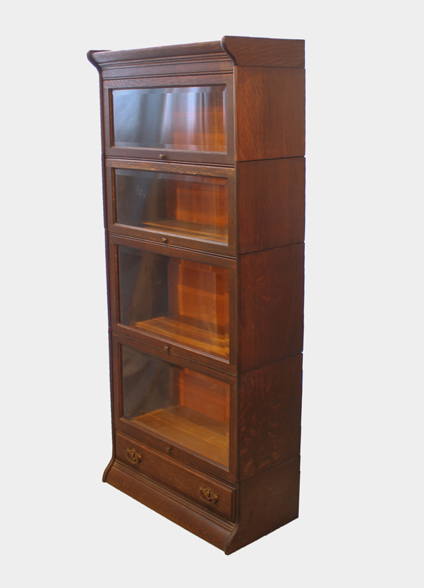 Bargain John39s Antiques Antique Corner Oak Bookcase A