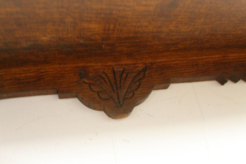 Bargain John39s Antiques Antique Oak Wall Curio Cabinet