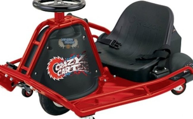 Toys R Us Canada Razor Crazy Cart Only 400 Was 500