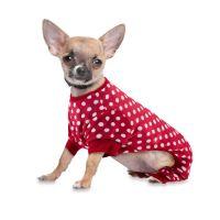 Polka Dot Dog Pajamas by PawsLife | Bark Avenue Dog Boutique