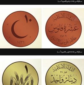 العملة النقدية الخاصة بالدولة الاسلامية
