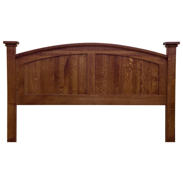 Amish Mission Buck Lowfoot Board Bed Beds Barn Furniture