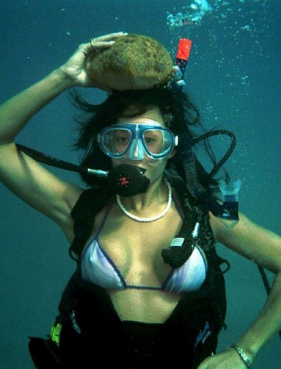 All Bollywood Girl Wallpaper Hot Girls Scuba Diving Barnorama