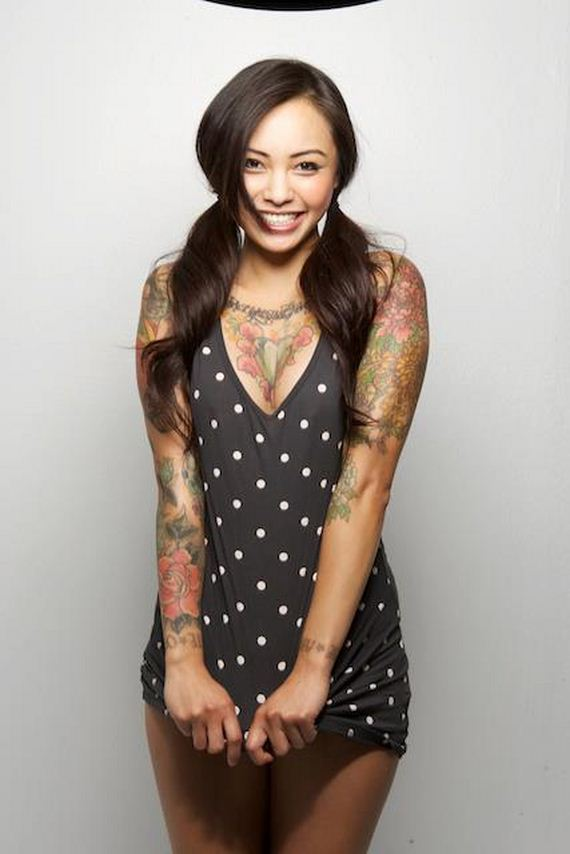 Motorcycle Girl Wallpaper Picture Of Levy Tran Barnorama