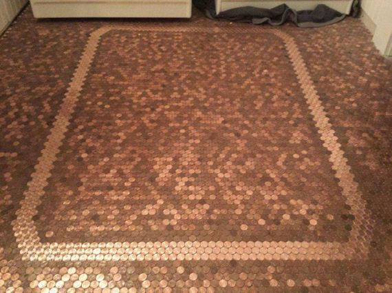 This Floor Is Completely Made Of Coins Barnorama