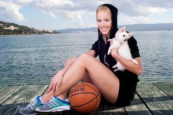 Skinny Girl Wallpaper Antonija Sandric The Basketball Barbie Barnorama