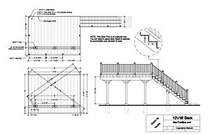 Building Deck Free Deck Design Plans
