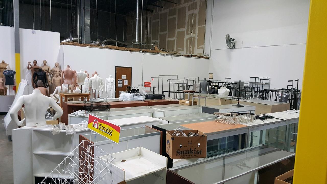 Used Store Displays Tampa