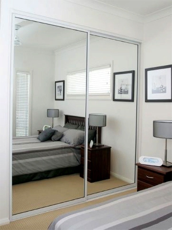 Gloss Sliding Wardrobes With Mirrors Letterkenny Fitted