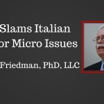 ITALIAN PHARMACEUTICAL FIRM SLAMMED FOR MICROBIOLOGICAL ISSUES (05/20/16)