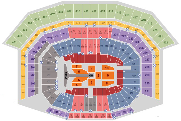 Levi\u0027s Stadium Guide Seating Chart  Reviews