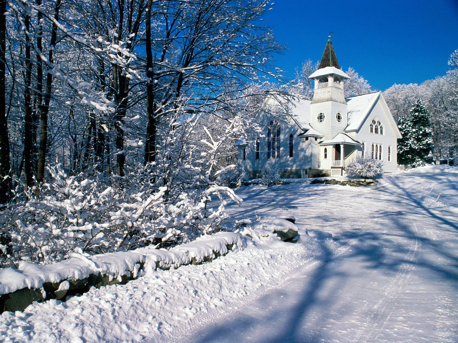 Snow In PutnamCounty New York