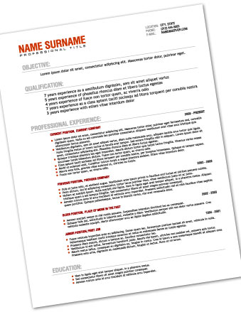 Resume Printing The Bartlesville Print Shop - resume printing