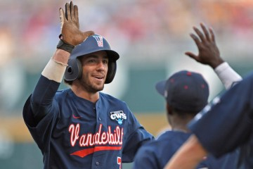 Vanderbilt's Dansby Swanson was MOP of the 2014 College World Series.