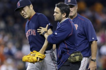 Koji+Uehara+Boston+Red+Sox+v+Detroit+Tigers+0XDQ3Lz7KTll