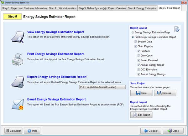 savings estimator idealvistalist