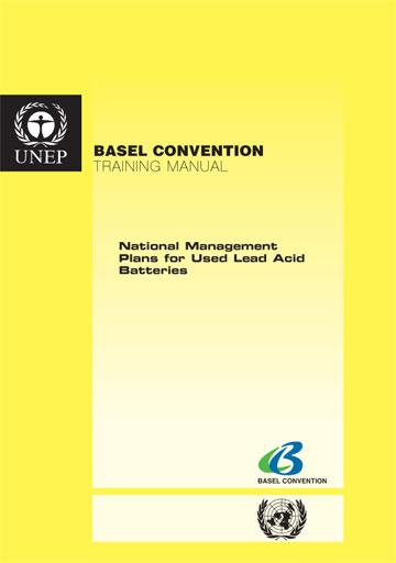 Basel Convention \u003e Implementation \u003e Publications \u003e Training Manuals