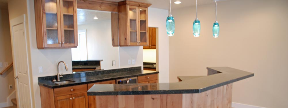 Basement Kitchens - Basement Pro Utah