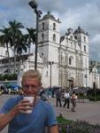 Eindelijk weer goede lekkere koffie in Tegucigalpa