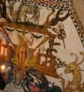 Painted ceiling in Casa de Don Juan, Tunja