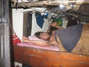 Slapen in het vooronder