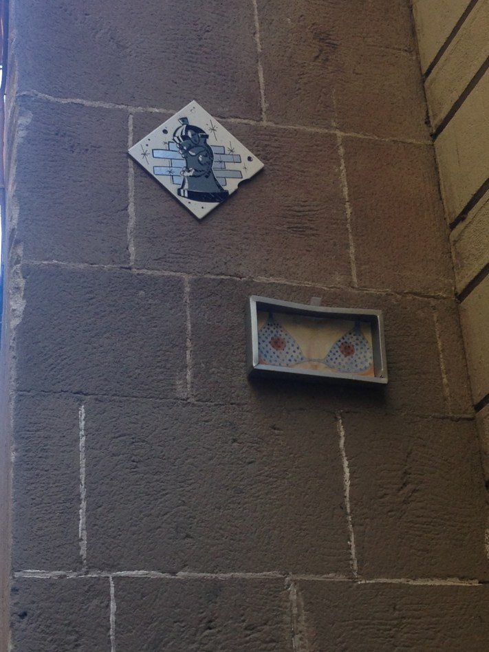Street art found in Gothic Quarter