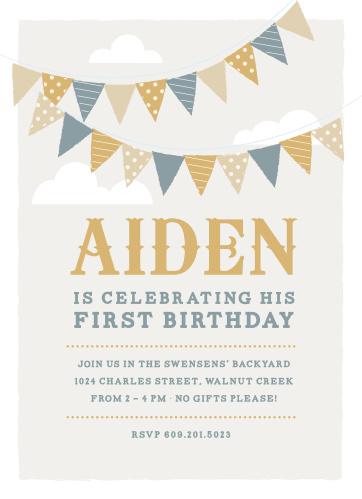 First Birthday Invitations 40 Off Super Cute Designs - Basic