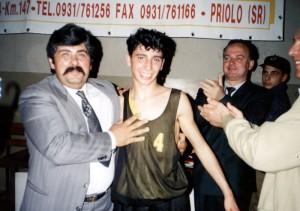 Finale Regionale Cadetti 1993 - Santo Carestia miglior giocatore del torneo