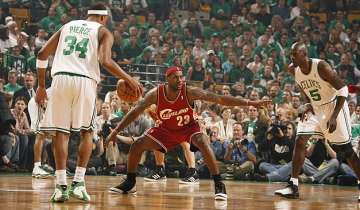 Game 7 Cleveland at Boston