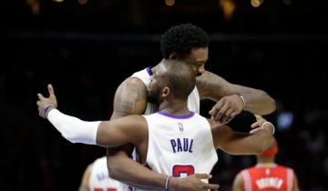 DeAndre Jordan, Chris Paul