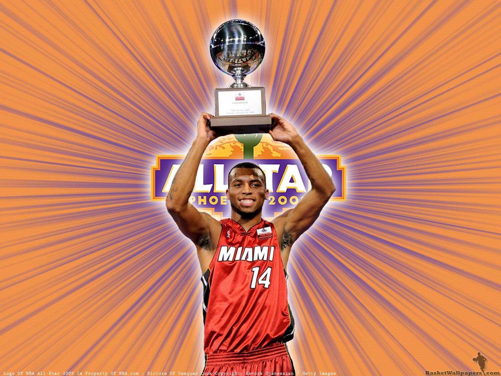Nba Wallpaper Iphone Daequan Cook 3pts Champion 2009 Wallpaper Basketball