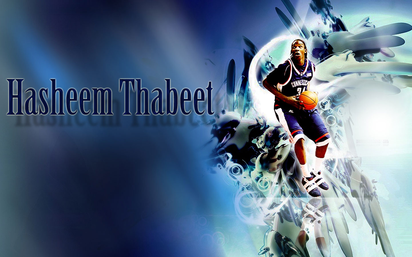 Uconn Iphone Wallpaper Hasheem Thabeet Widescreen Wallpaper Basketball