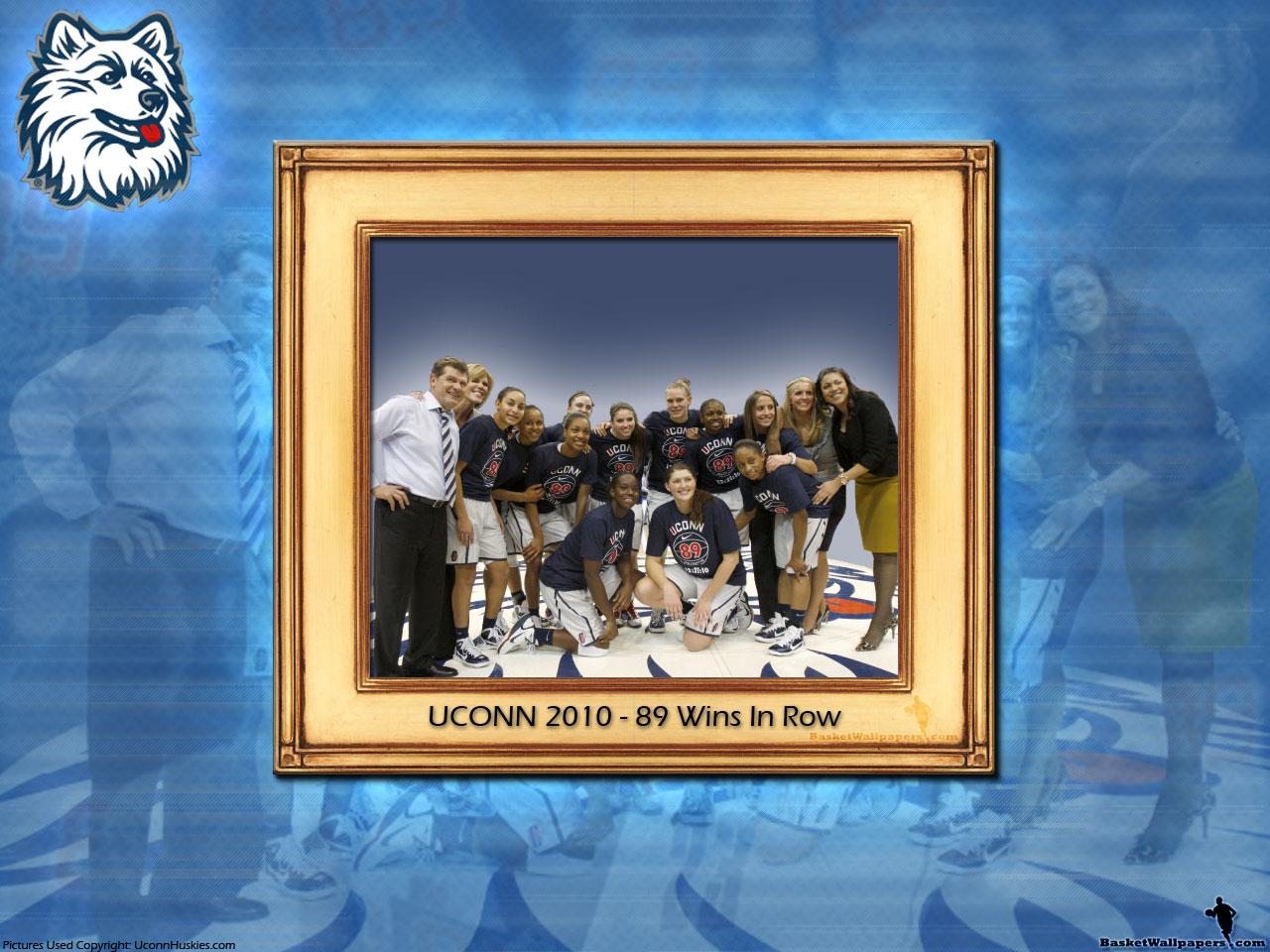 Uconn Iphone Wallpaper Uconn Huskies Women 89 Wins In Row Wallpaper Basketball