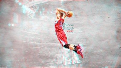 Blake Griffin Dunk 3D Wallpaper | Basketball Wallpapers at BasketWallpapers.com