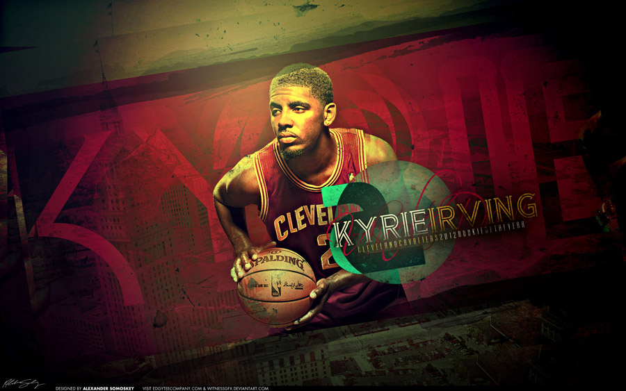 Okc Wallpaper Iphone Kyrie Irving 2013 Wallpaper Basketball Wallpapers At