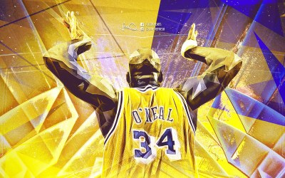 Shaquille O' Neal LA Lakers 1920×1200 Wallpaper | Basketball Wallpapers at BasketWallpapers.com
