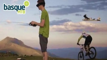 Video: Cove GSpot Mountain Bike vs FPV Plane