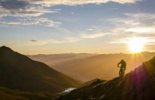 Basque Mountain Biking at Sunset and Sunrise