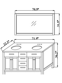 Bathroom Cabinets And Vanities Dimensions