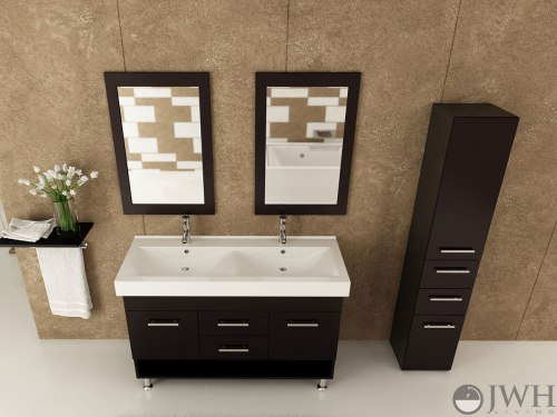 Medium Of Double Sink Bathroom Vanities