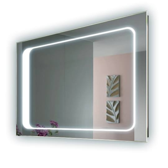 Bathroom Mirrors With Lights Behind : Perfect White