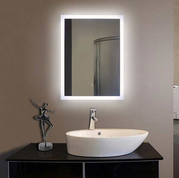 Illuminated Bath Mirrors Suppliers Fp04 Led Bathroom