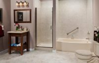 Master Bath Remodel | One Day Large Bathroom Remodeling ...