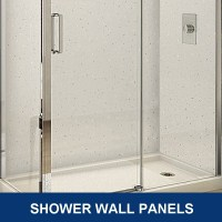 shower wall panels for bathrooms