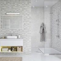 Marmo Mosaic Bathroom Panels - The Bathroom Marquee
