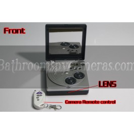 Buy Mirror Shower Radio Hidden Camera HD Shower Spy Radio