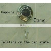 Stainless Steel Bathroom Hook Hidden HD Spy Camera DVR ...