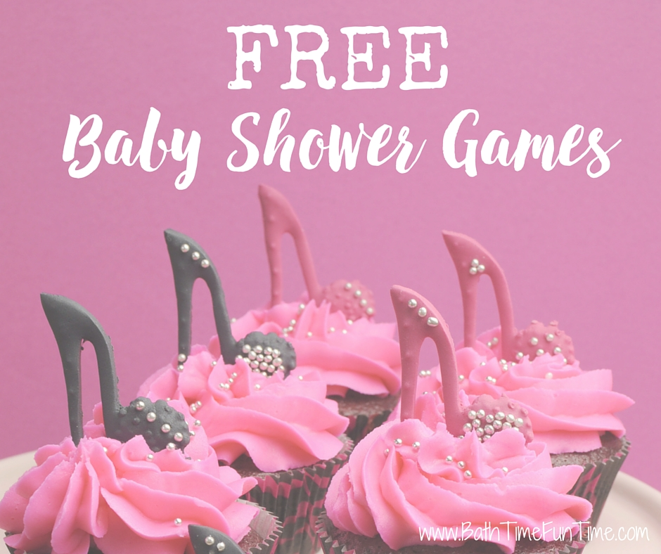 FREE Baby Shower Games - only the BEST shower games here